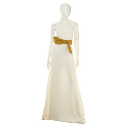 Chloé Maxi jurk in wit met lus
