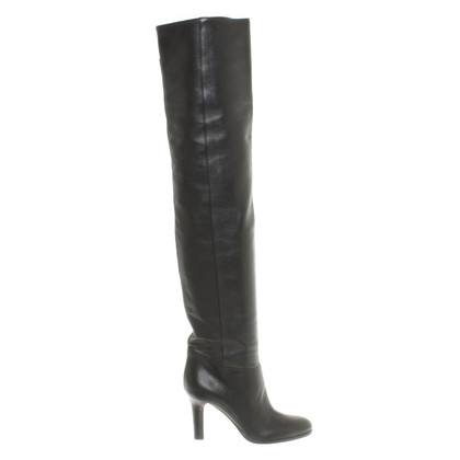 Jimmy Choo Overknee-boots from leather