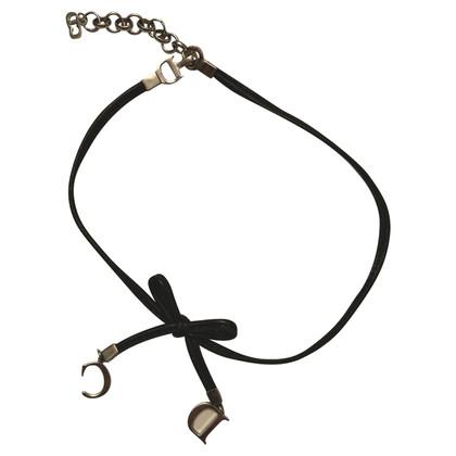 Christian Dior Leather collar