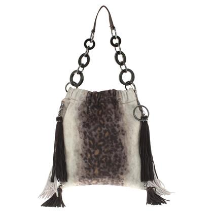Philosophy di Alberta Ferretti Shoulder bag with animal pattern