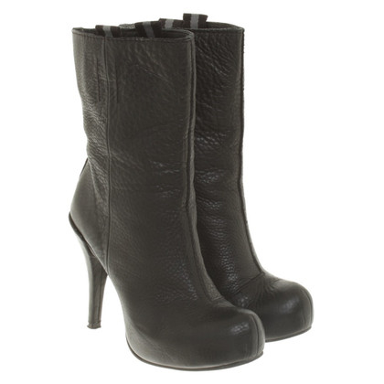 Pedro Garcia Black Boots