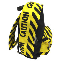 Moschino Black and yellow backpack