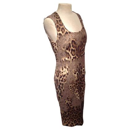 Dolce & Gabbana Leo optics with ruffle summer dress