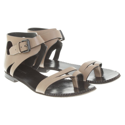 Bottega Veneta Sandals in Khaki