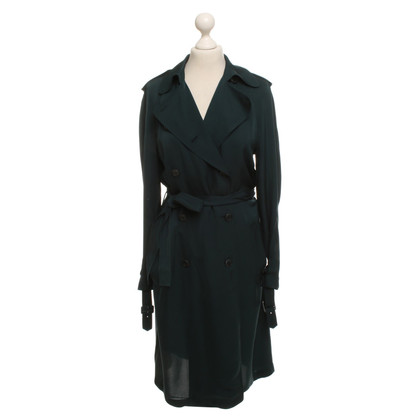 Theory Coat in Petrol