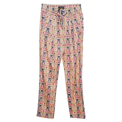 Maison Scotch pantaloni multicolori