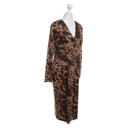 Rena Lange Dress with leopard print
