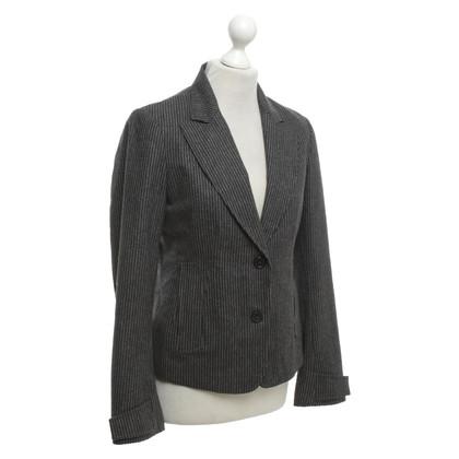 Jil Sander Pinstripe blazer gemaakt van scheerwol