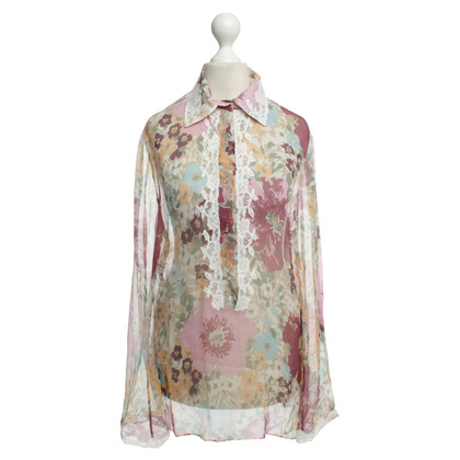 Ermanno Scervino Blouse with a floral pattern