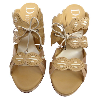 Christian Dior Sandals materiaal mix