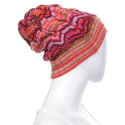 Missoni Strickmütze in Bunt