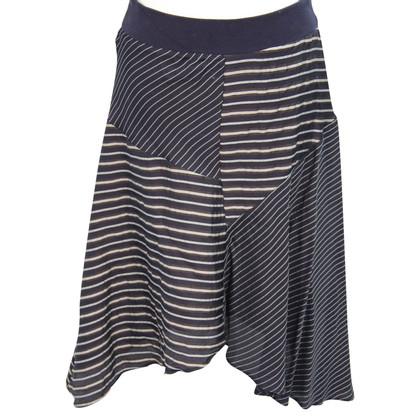 Whistles Stripped skirt
