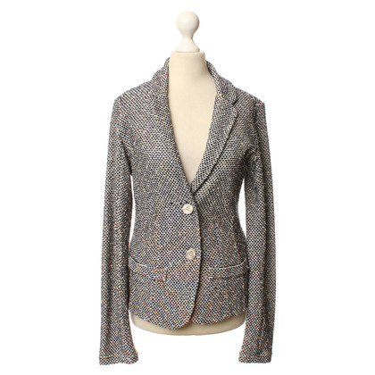 Rich & Royal Blazer with textured pattern