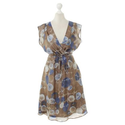 René Lezard Sommerkleid mit Muster