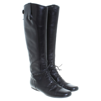 Miu Miu Zwarte laarzen