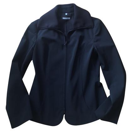 Strenesse Blue Blazer nero con cerniera