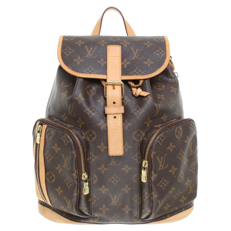 louis vuitton backpack bosphore buy second hand louis vuitton backpack bosphore for 1. Black Bedroom Furniture Sets. Home Design Ideas