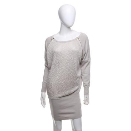 Patrizia Pepe Long pullover in beige