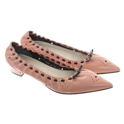 Bally Ballerine in Nudefarben