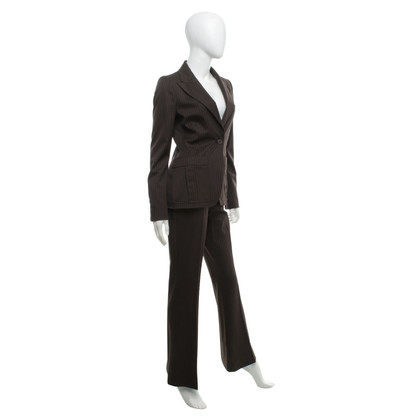 Gucci Trouser suit with pinstripe pattern