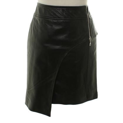 Andere merken Carell Thomas - lederen rok in zwart