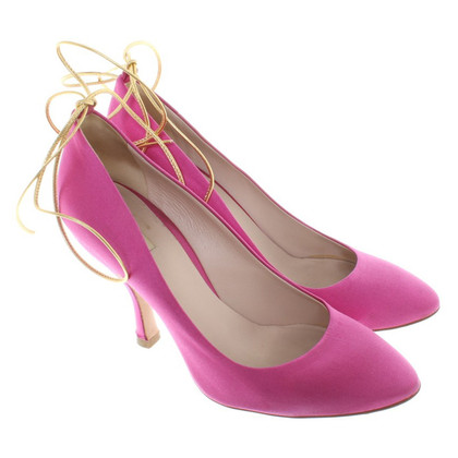 Miu Miu Satin pumps in Pink