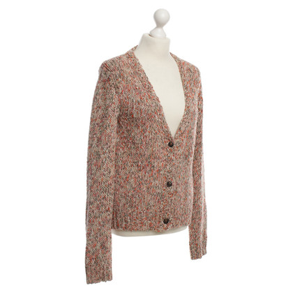 Maison Scotch Strickjacke mit Lurexfäden