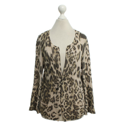 Marc Cain Cardigan with leopard pattern