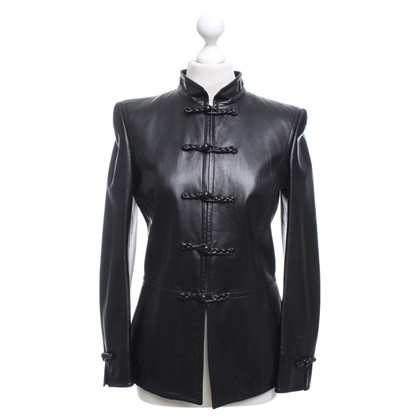 Rena Lange Leather jacket in black