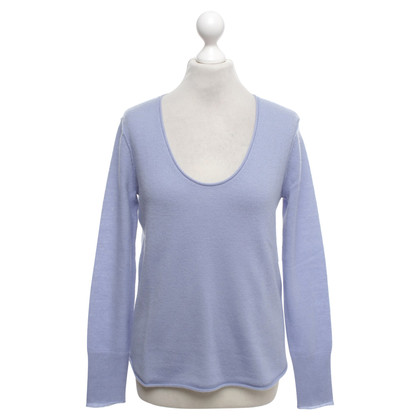 Bloom Cashmere sweater in blue