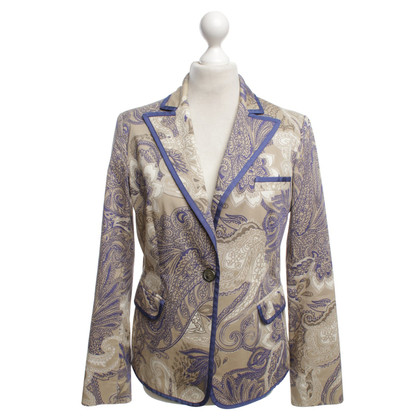Etro Blazers with floral pattern