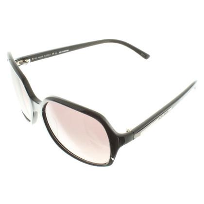 Jil Sander Sonnenbrille in Schwarz