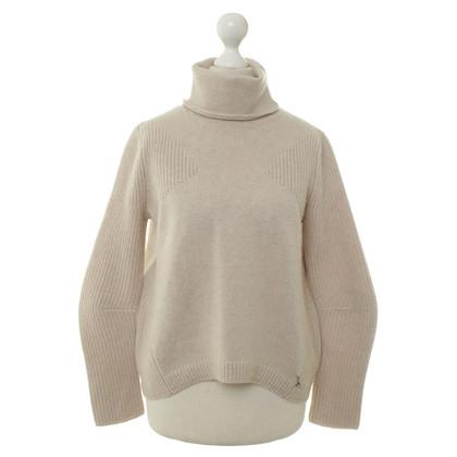 Patrizia Pepe Turtleneck Sweater in beige