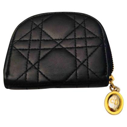 Christian Dior portamonete in pelle