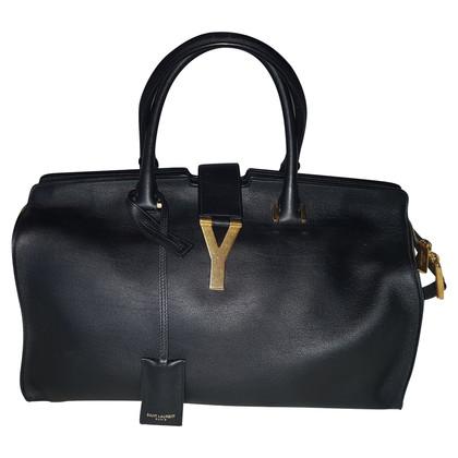 """Saint Laurent """"Cabas Chyc Shopper"""" Leather"""