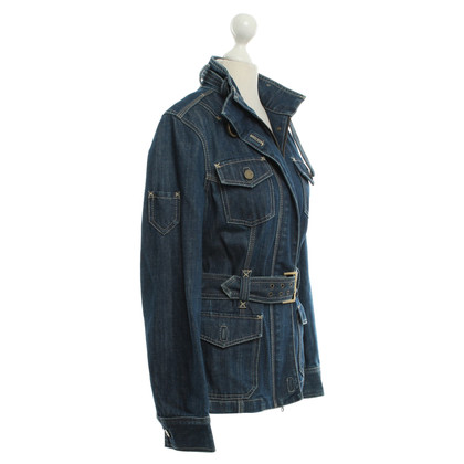 Karen Millen Denim jasje in donkerblauw