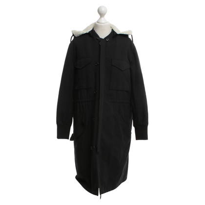 Golden Goose Parka in Black