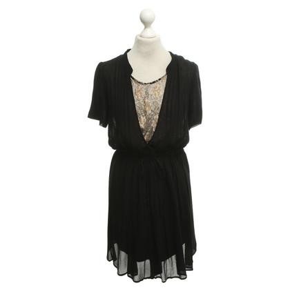 Munthe Kleid in Schwarz