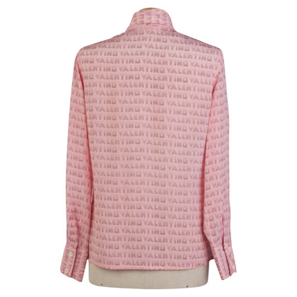 Valentino Button blouse silk