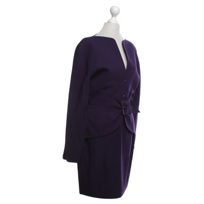 Mugler Costume in purple