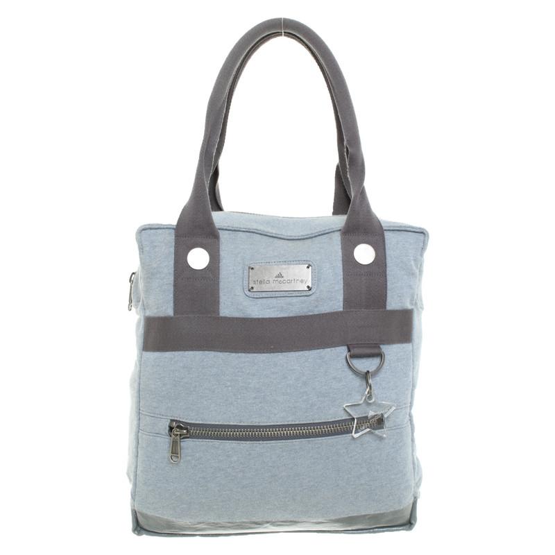 Borsa A For In Second Hand Blu Stella Adidas Mano Mccartney 35L4ARj