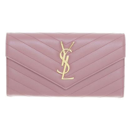 Yves Saint Laurent Portemonnaie aus Leder