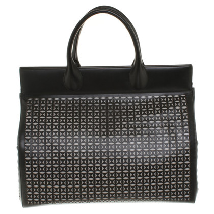 Alaïa Shopper in Schwarz