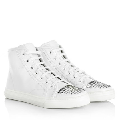 Gucci Hoge top sneakers in wit