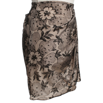 Christian Dior skirt from black lace