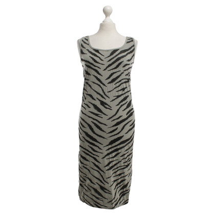 Wolford Dress in gray with animal print