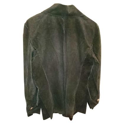 Roberto Cavalli Vintage-Wildleder Hemd / Jacke