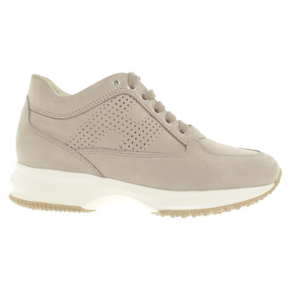 Hogan Sneakers in Pale taupe