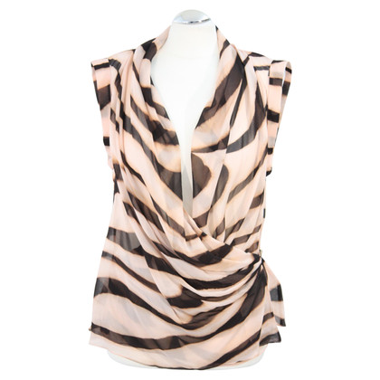 Ted Baker Transparent top made of silk