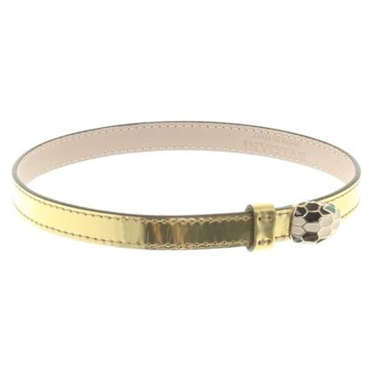 Bulgari Goldfarbenes Armband